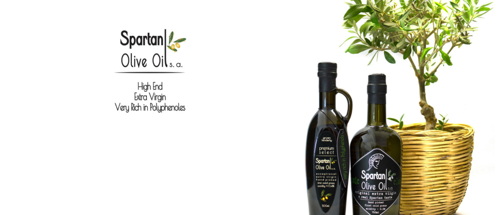 Spartan Olive Oil – Very Rich in Polyphenols